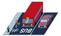 4. Carril bus-bici