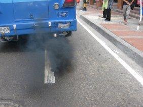 Contaminación coche