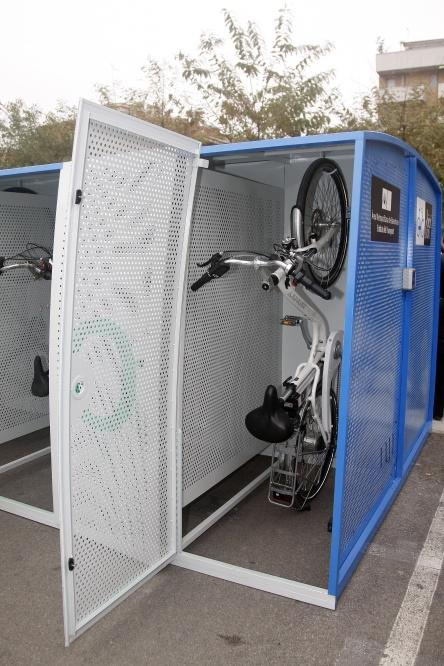 Aparcamiento de bicicletas melilla conbici - Anclaje para bicicletas ...