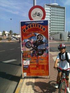 Freestyle y prohibido bicicletas