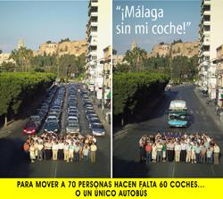 Día sin coche. Málaga