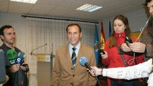 Jefe de la DGT en Melilla. J. C. Romero