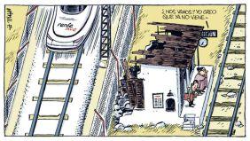 Trenes alta velocidad vs. media distancia