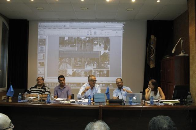 Ponentes seminario movilidad sostenible en Melilla