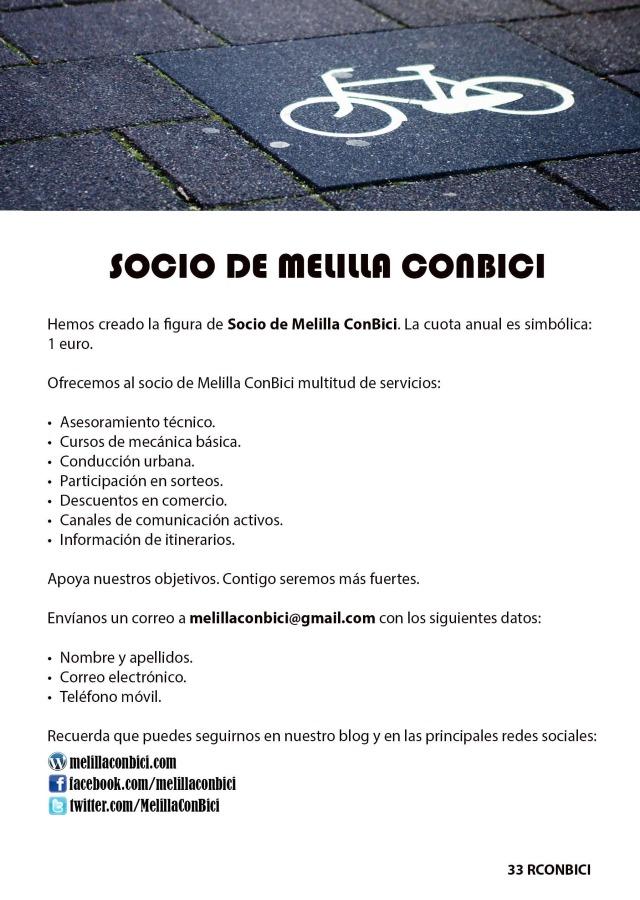 Socio Melilla ConBici