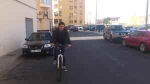Roge en bici