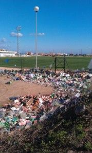 1.Toda la basura viene del contrabando