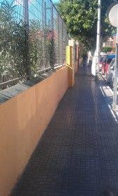 Acceso CEIP Pintor Eduardo Morillas