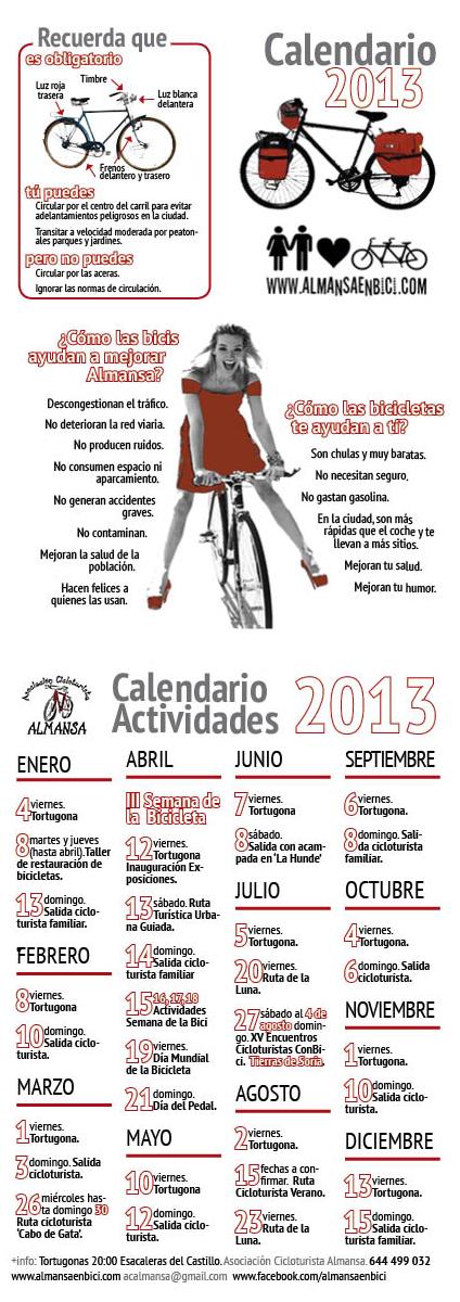 Calendario Almansa