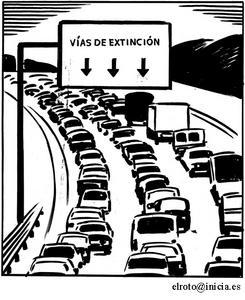 Vías de extinción