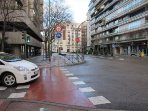 Carril bici O´Donnell