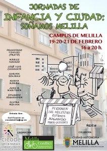 Cartel Jornadas Infancia y Ciudad