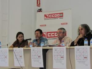 Jornadas sobre movilidad laboral sostenible en Málaga por CCOO