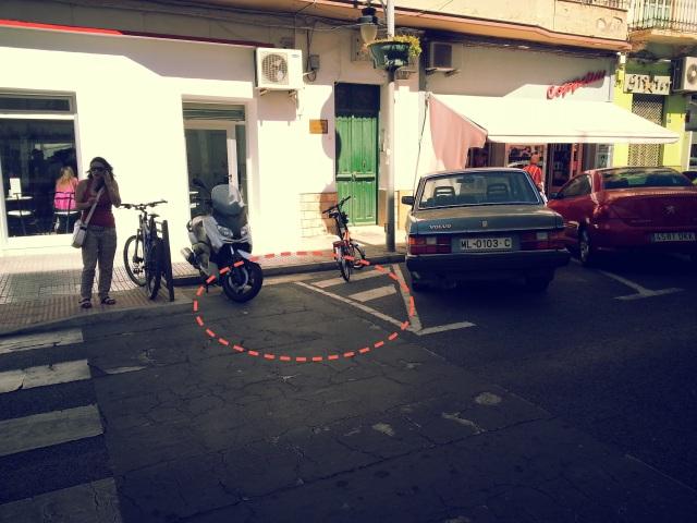 Parking bicis Los Pérez del Centro