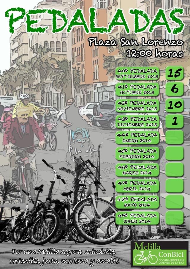 pedalada 2013