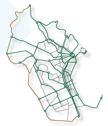 Red de itinerarios cicilistas