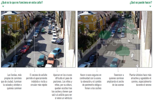 Diagnóstico del espacio urbano II