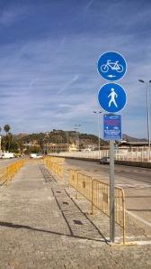 Biciatones. Autoridad Portuaria Málaga