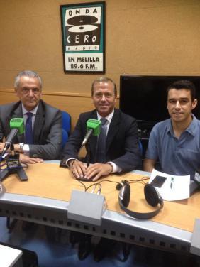 Melilla ConBici, Fomento y Seguridad Ciudadana en Melilla en la Onda