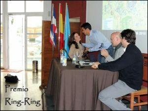 Premio ring-ring 2013 Begoña Rubio