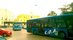COAs de huelga en Pza. España