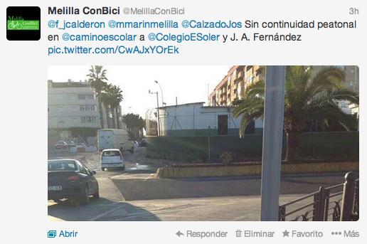 Paso de peatones a CEIP Enrique Soler e IES Juan Antonio Fernández