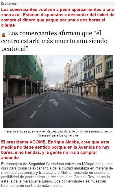 Los comerciantes afirman que %22el centro estaría más muerto aún siendo peatonal%22