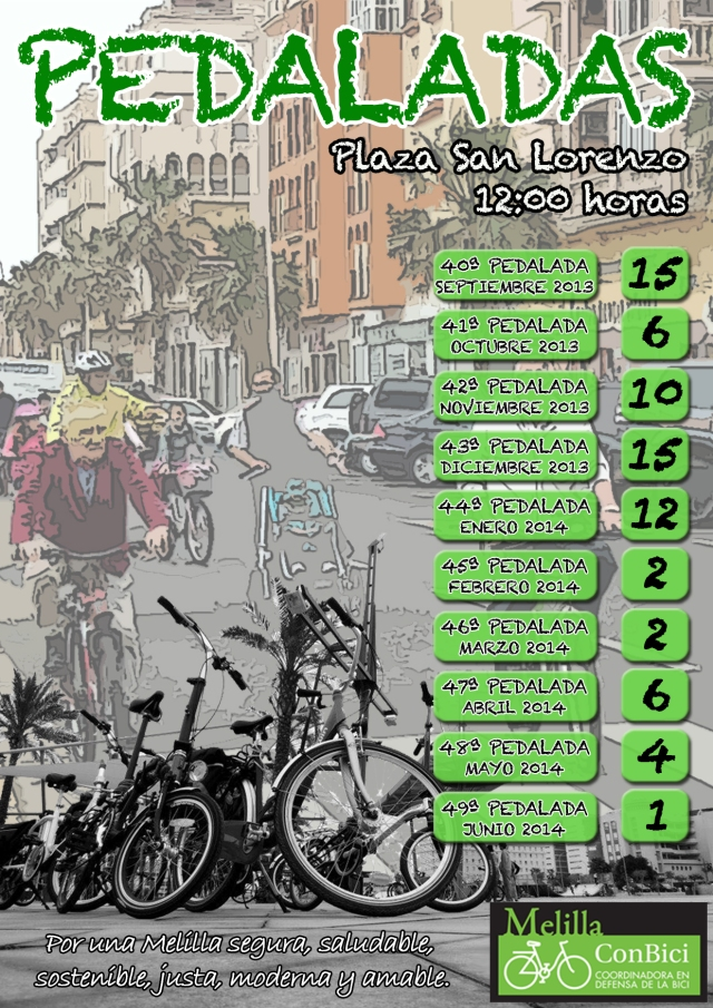 pedalada 2013-2014