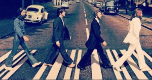 The Beatles paso de peatones