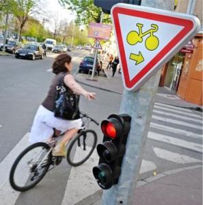 Prioridad semafórica para ciclistas