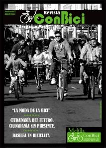 Portada nº 2 de la revista Melilla ConBici