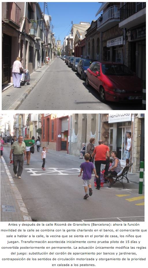Cambio de reglas en la calle