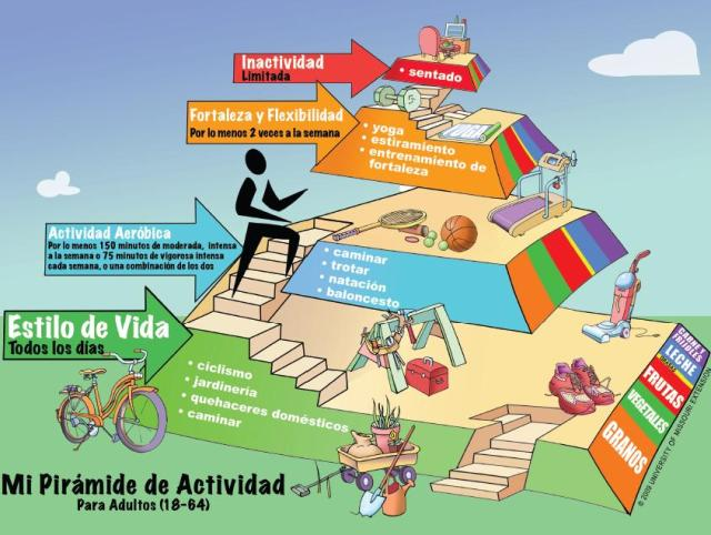Pirámide de la Actividad Física