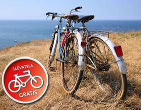 Bici gratis en Transmediterránea