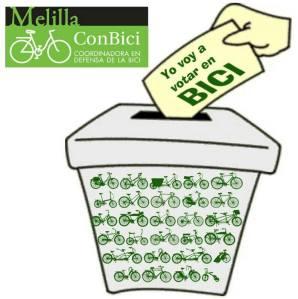 Yo voto en bici