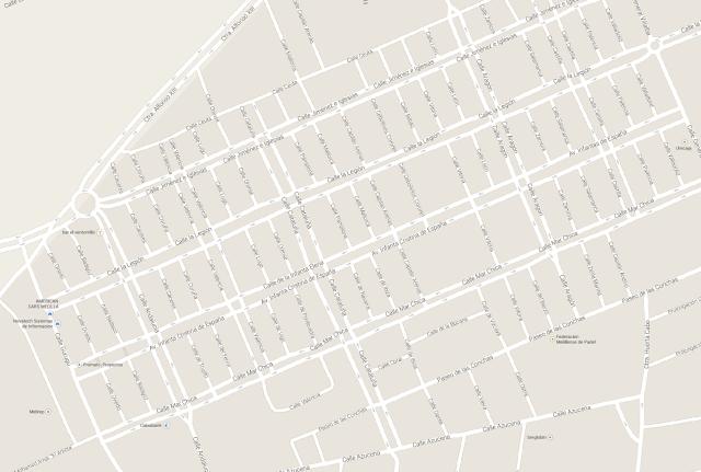 Barrio del Real. Todas las calles