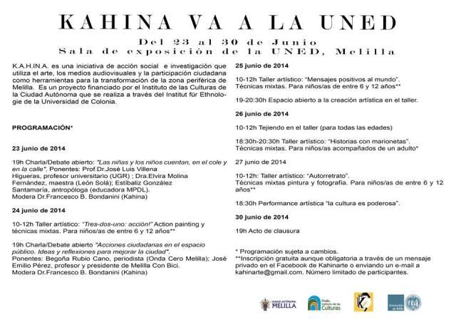 Kahina va a la UNED