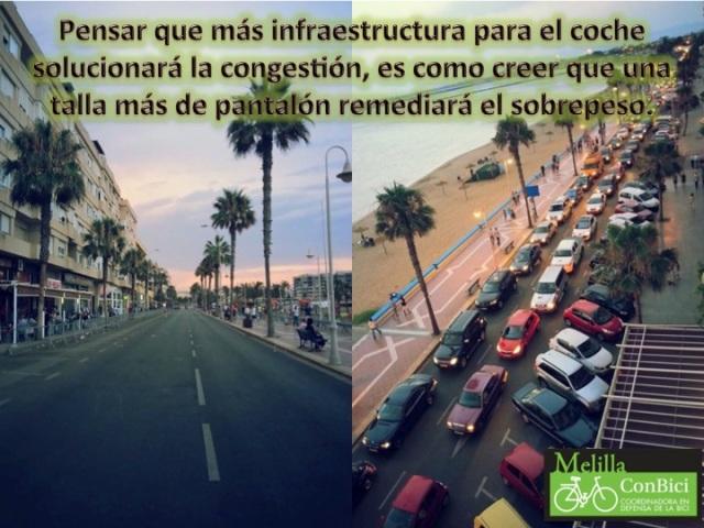Infraestructura coches y sobrepeso