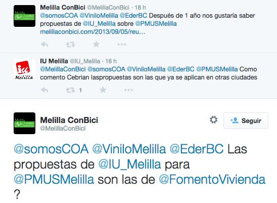 Tweet IU Melilla