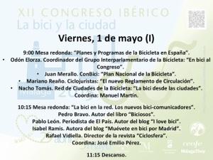 #congresobici Bici-Comunicadores