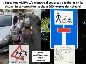 5.2.9. AMPA y:o claustro disuasión. Camino Escolar