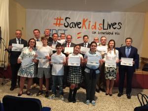 Campaña Save kids lives