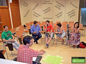 Reunión Melilla ConBici 2015