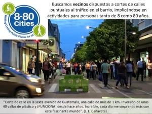 5.2.7. Cortes de calles. Vecinos