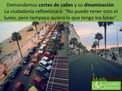 5.3.1.1. Cortes de calles y dinamización