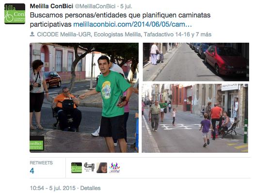 Buscamos personas:entidades que planifiquen caminatas participativas