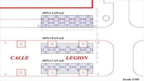 Terrazas C: La Legión