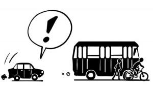 3. Mitos sobre la movilidad urbana El coche es más rápido.