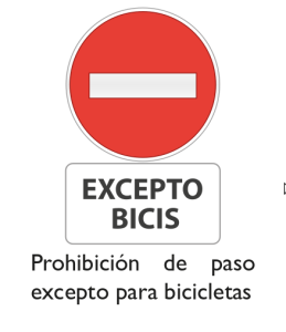 prohibido-excepto-bicis