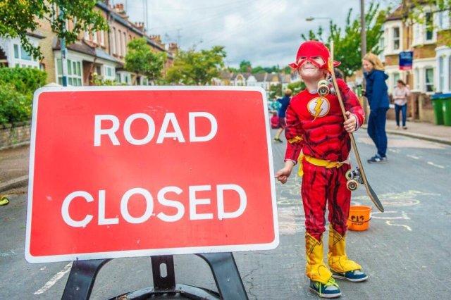 Calle abierta Gran Bretaña